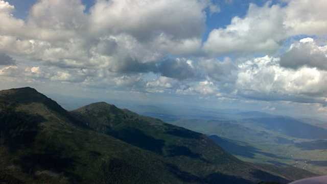View from atop Mount Washington