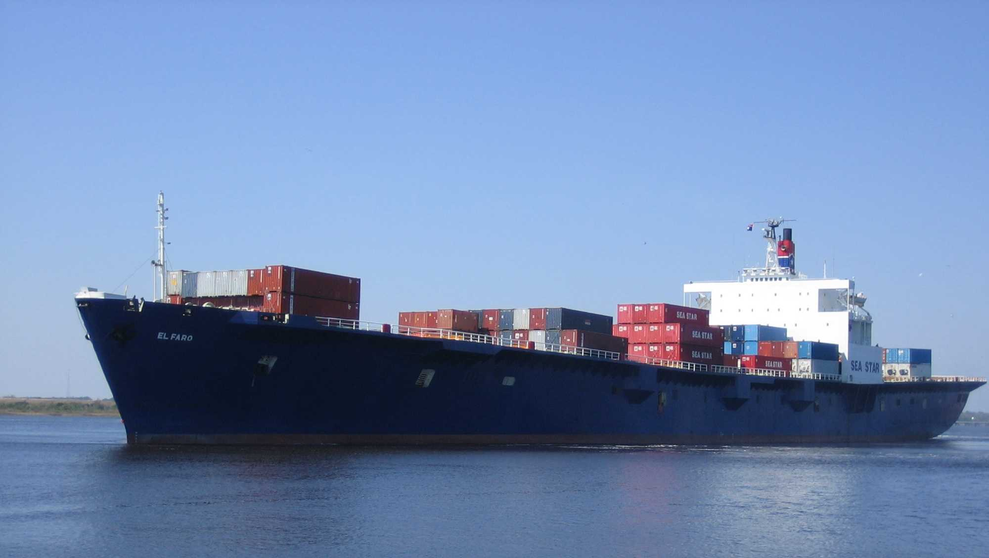 Tuesday Sept. 29: El Faro leaves Jacksonville, Florida, headed to Puerto Rico with supplies.