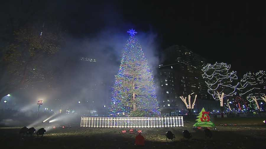 Schedule set for lighting of bostons christmas tree sciox Images