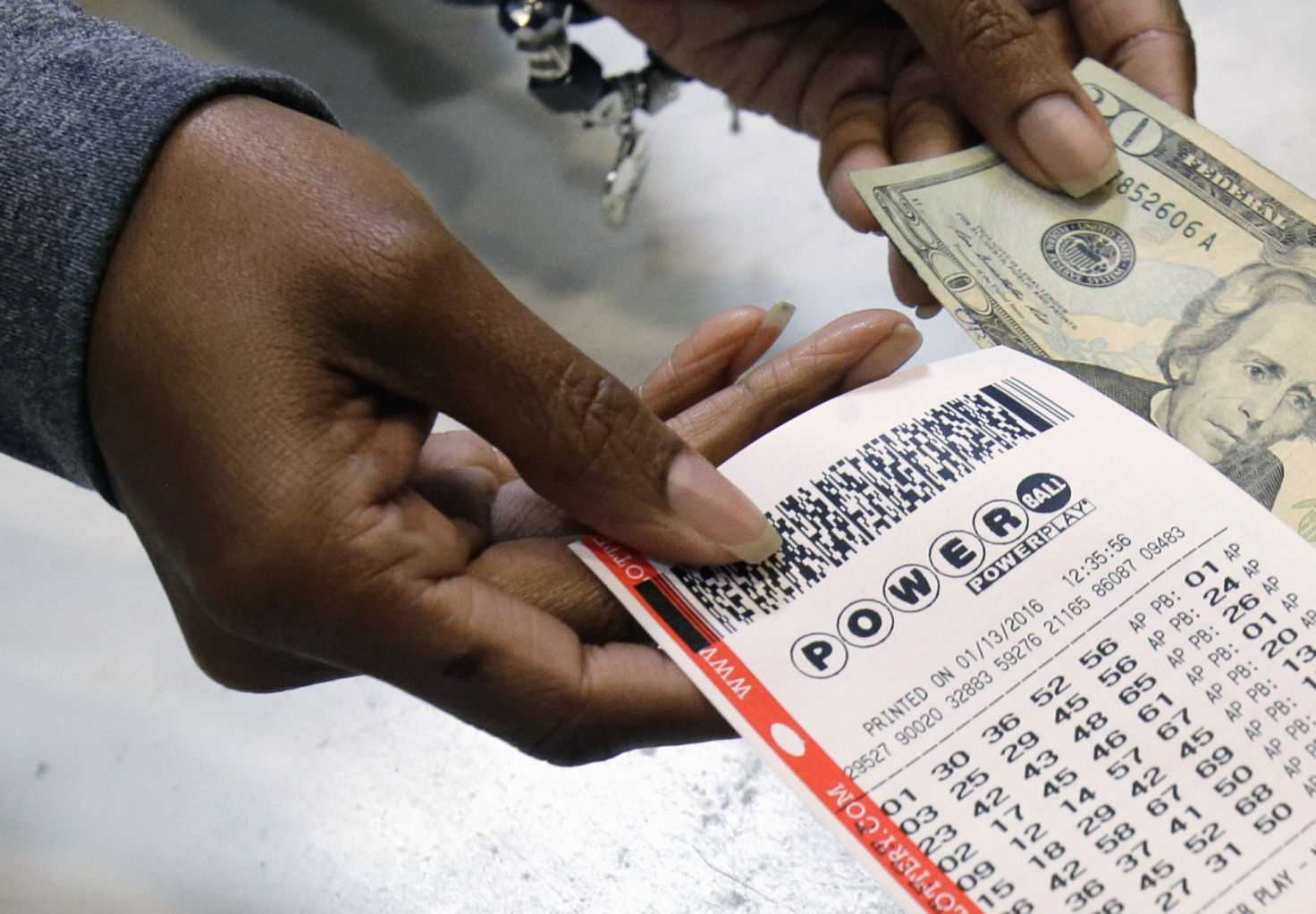 Powerball jackpot winning numbers 54, 41, 9, 3, 21 and Powerball 25