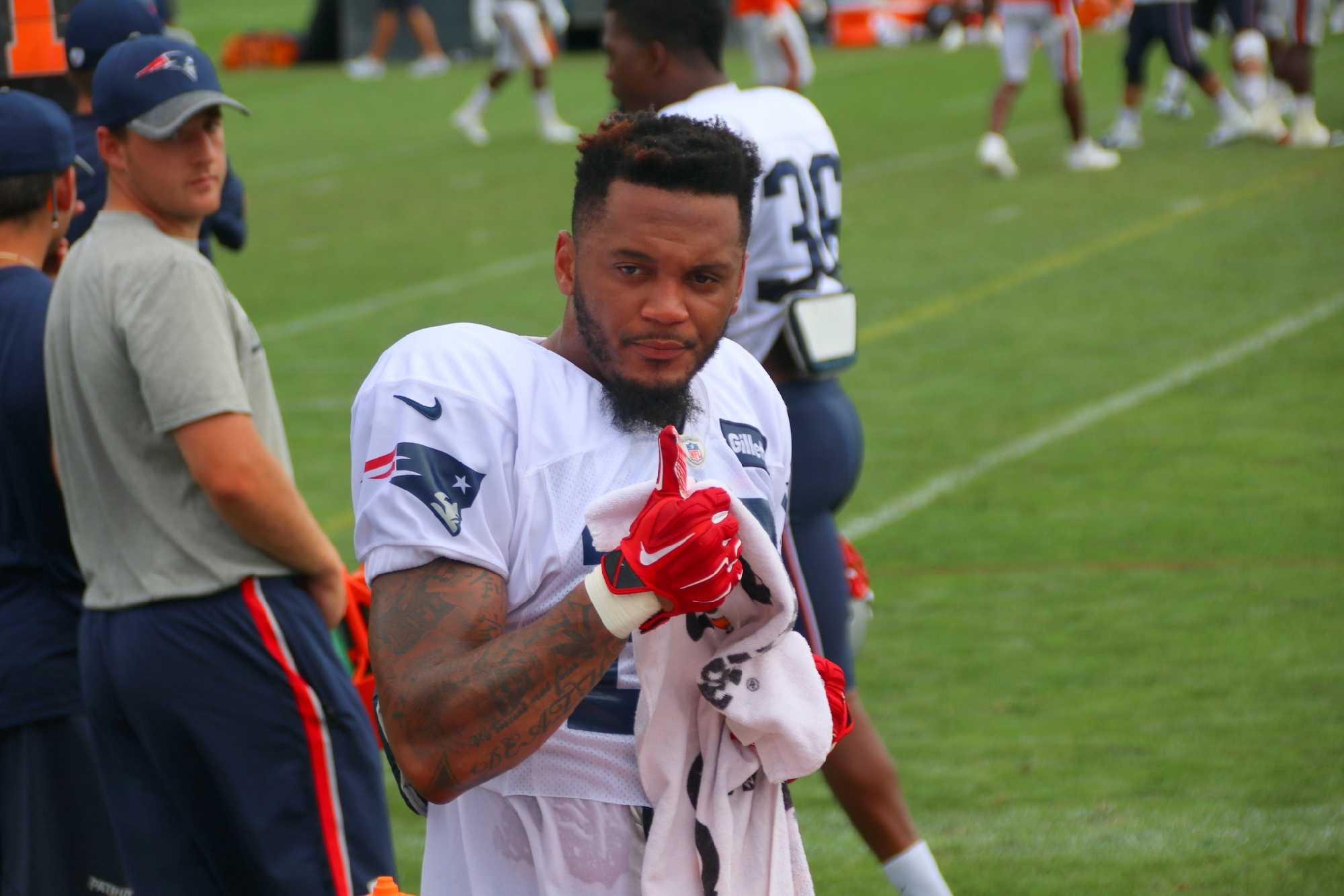 Patriots player fined for taking part in arm wrestling petition