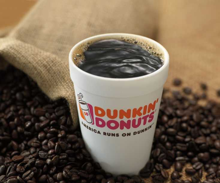 Dunkin' drops 10% of menu offerings