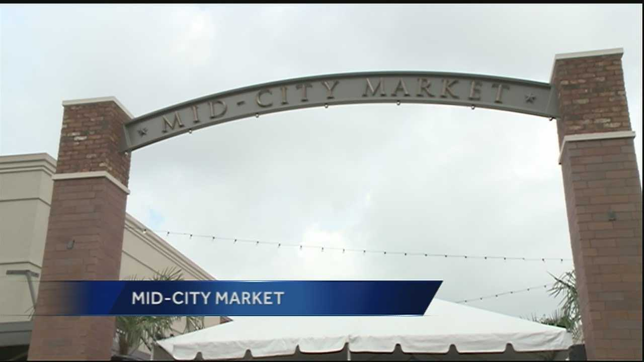 Mid-City is getting a burst of new life with teh opening of the Mid-City Market along Carrollton Avenue.