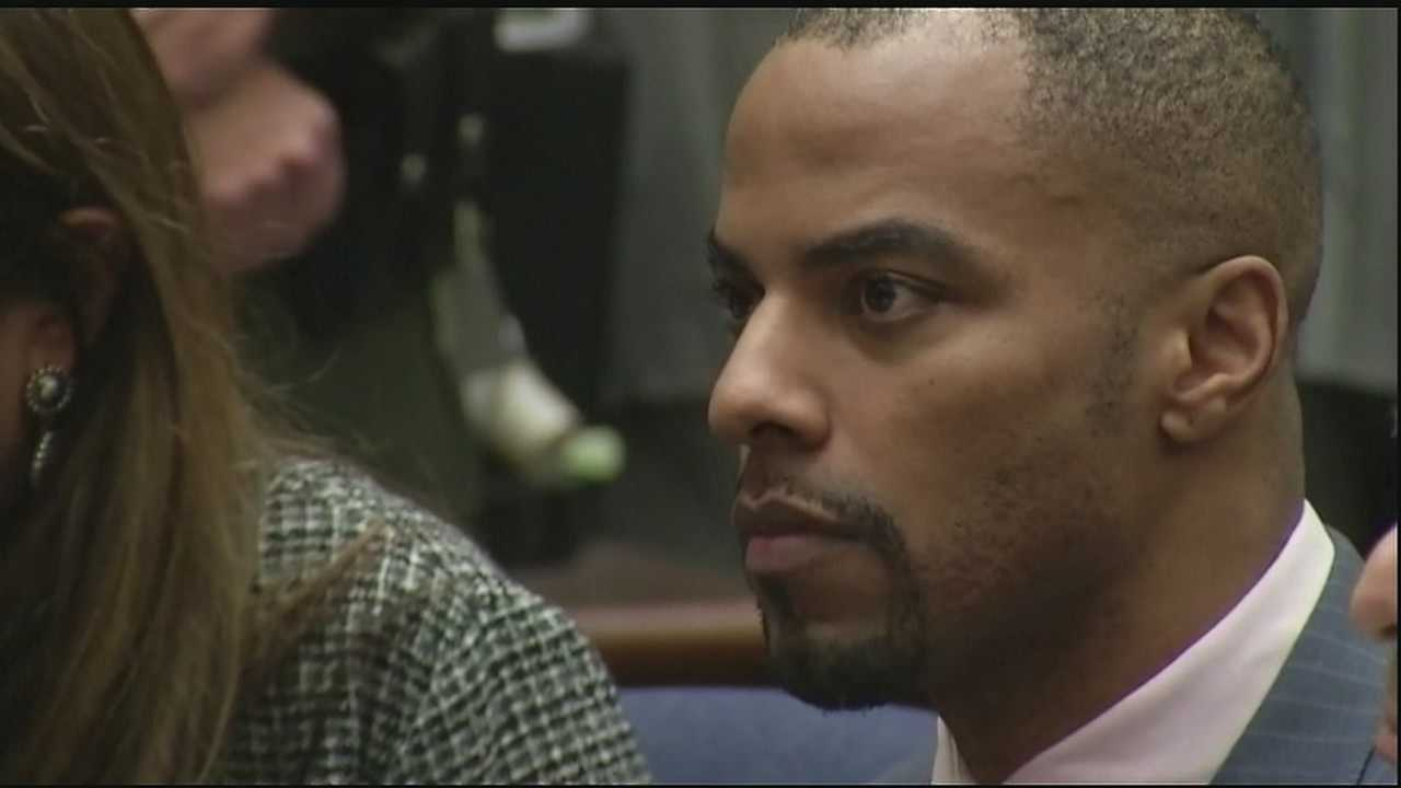 Former NFL player Darren Sharper has arrived in Louisiana and is being held in St. Tammany Parish in advance of an April 6 court date in New Orleans, where he will face rape and drug charges.