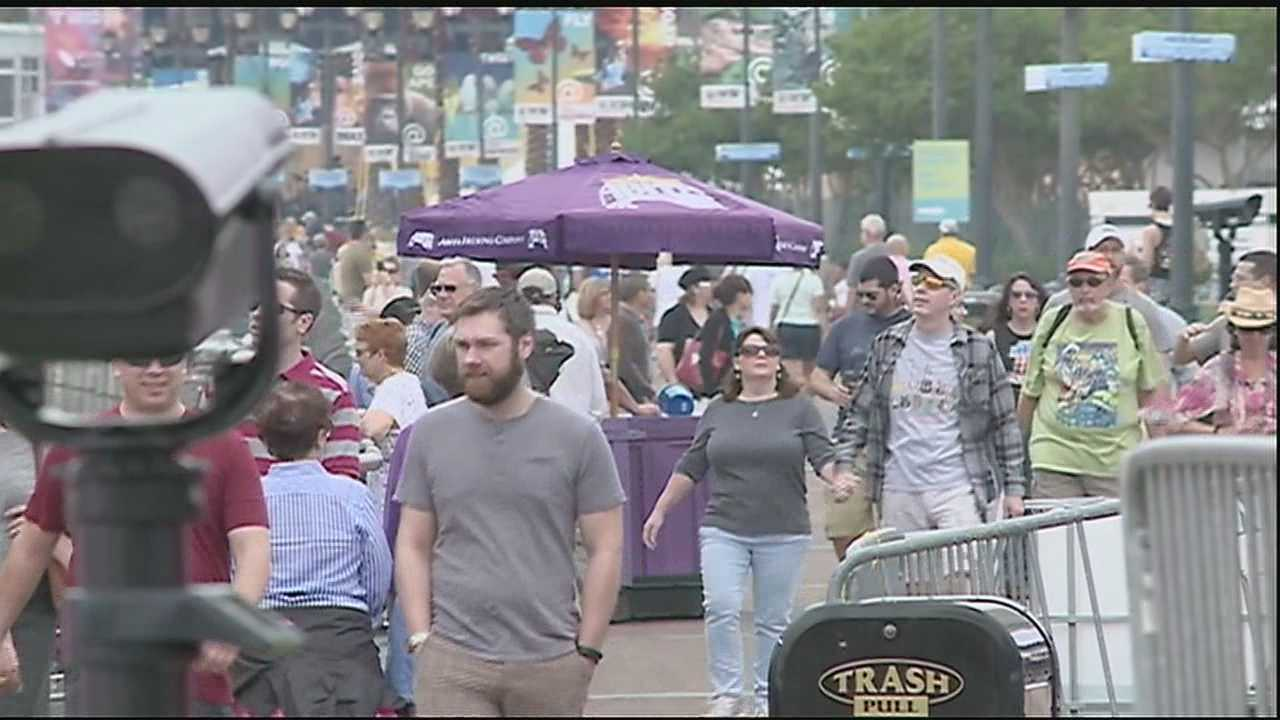 With three big events happening simultaneously Saturday, it's indeed the biggest weekend of year since Carnival in the Crescent City.