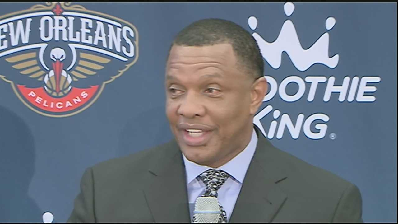 The New Orleans Pelicans introduced Alvin Gentry as the team's head coach Monday afternoon.