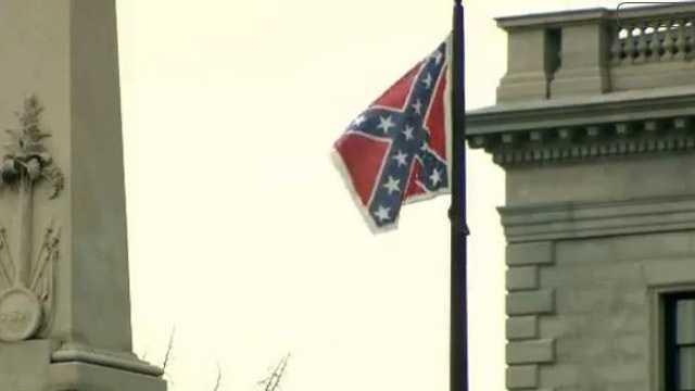 confederate flag at SC Capitol