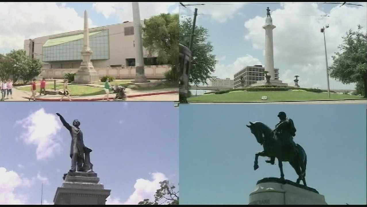 New Orleans monuments picture