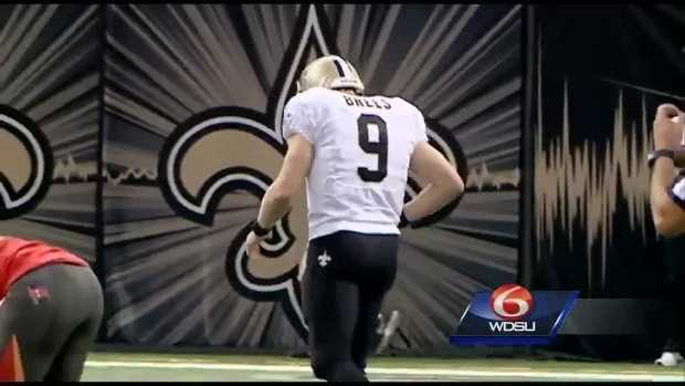 "We continue with the New Orleans Saints. There were plenty of ups and downs in 2015 for Drew Brees and the Black and Gold. Fletcher Mackel best described the team's weak season: ""In the glory days, both Elvis and the Saints were awesome and electric. But like Elvis in his later years, the Saints have become sort of sad and sloppy."