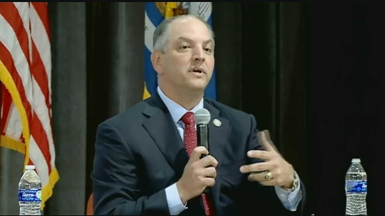 Gov.-elect John Bel Edwards is preparing to take the oath of office. The Democrat will be sworn in Monday.