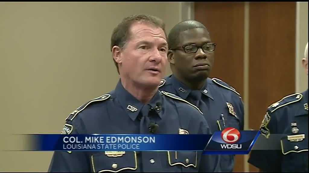 Louisiana State Police Superintendent Col. Mike Edmonson