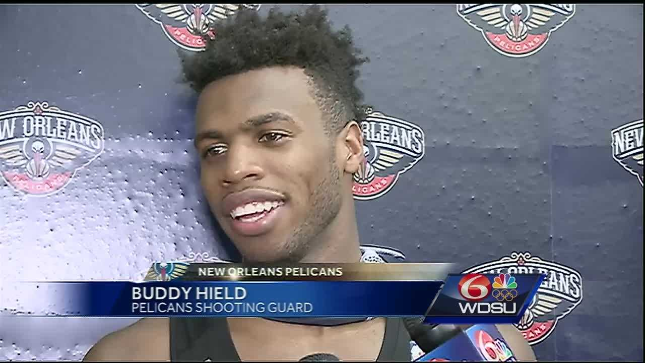 New Orleans Pelicans shooting guard Buddy Hield has only been in New Orleans for a couple weeks, but he said he's enjoying the Big Easy and all it has to offer.