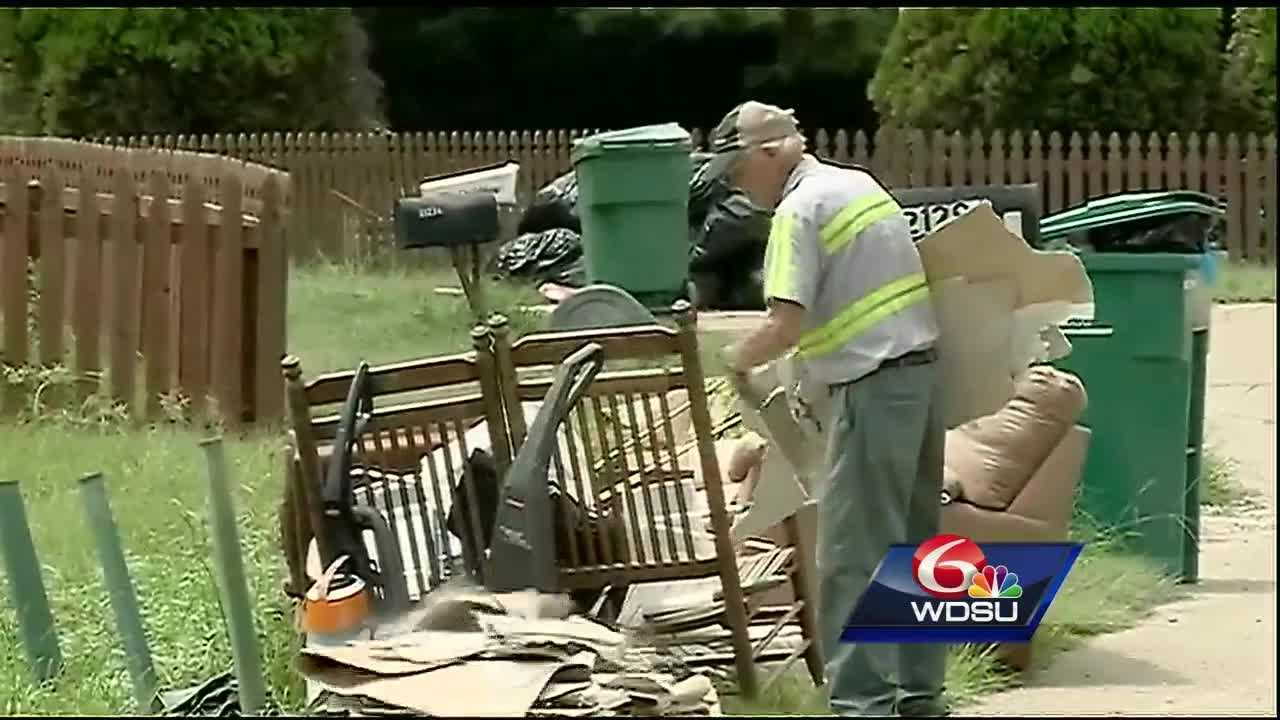 Even as storm activity increases in the Gulf of Mexico, flood victims across south Louisiana continue cleaning up after the second major flood since March.