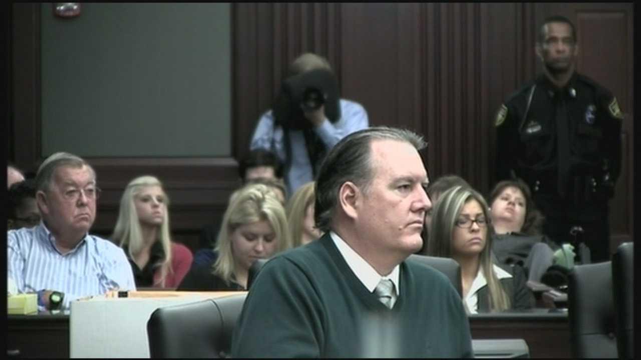 Michael Dunn in court