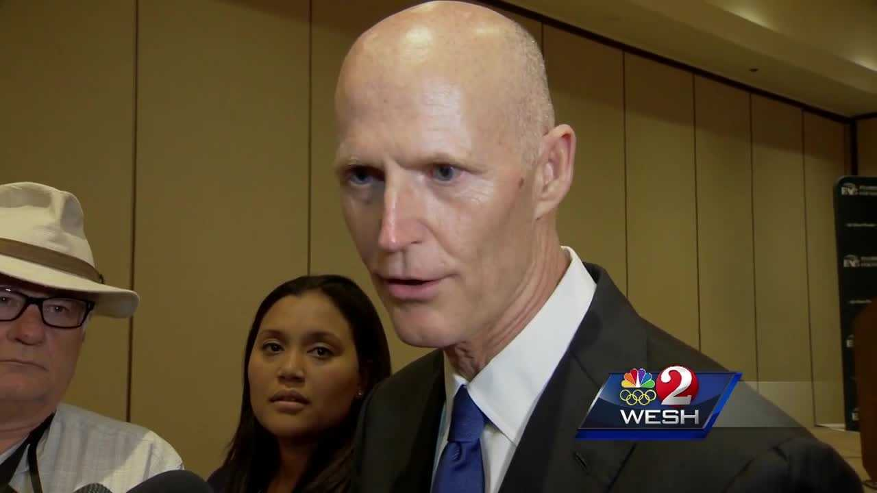 Gov. Scott responded to questions about gun control on Wednesday. He also met with the FDLE regarding the Pulse shooting investigation. Amanda Crawford brings us the latest update.