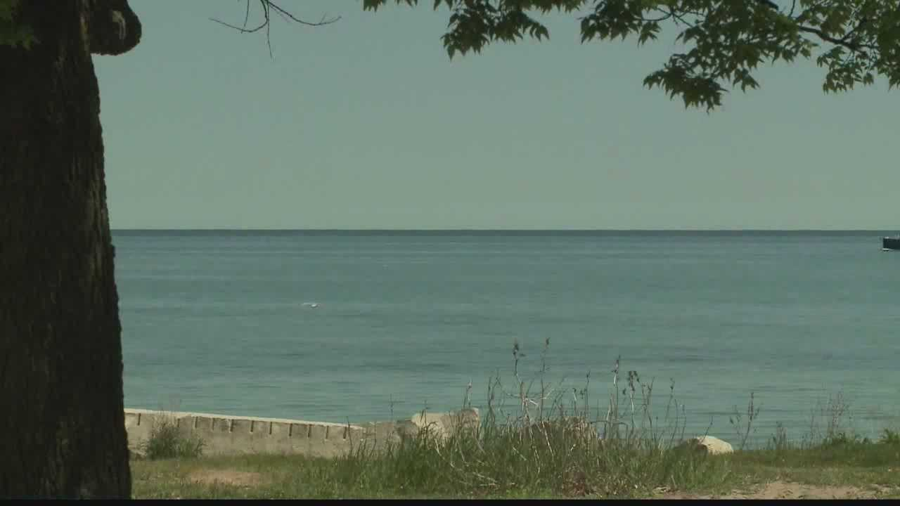 Abnormally low water temperatures are creating more dangerous lake currents.