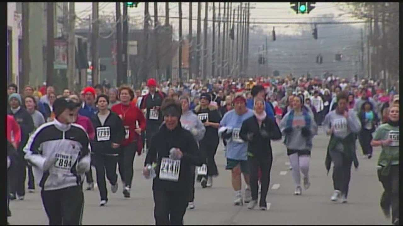The first leg of the Louisville Triple Crown of Running gets underway Saturday morning.