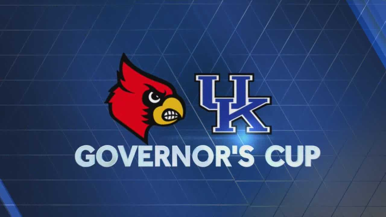 The universities of Louisville and Kentucky are gearing up for this weekend's Governor's Cup.