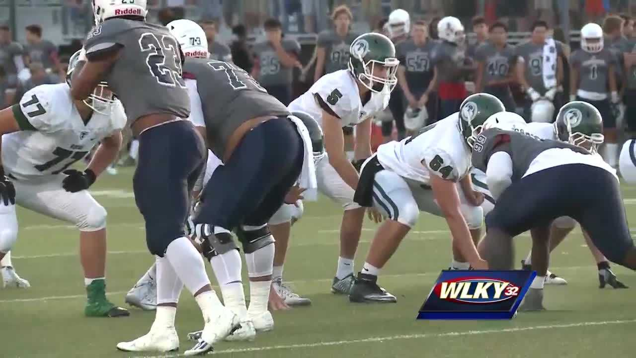 Trinity defeated Lafayette 45-7