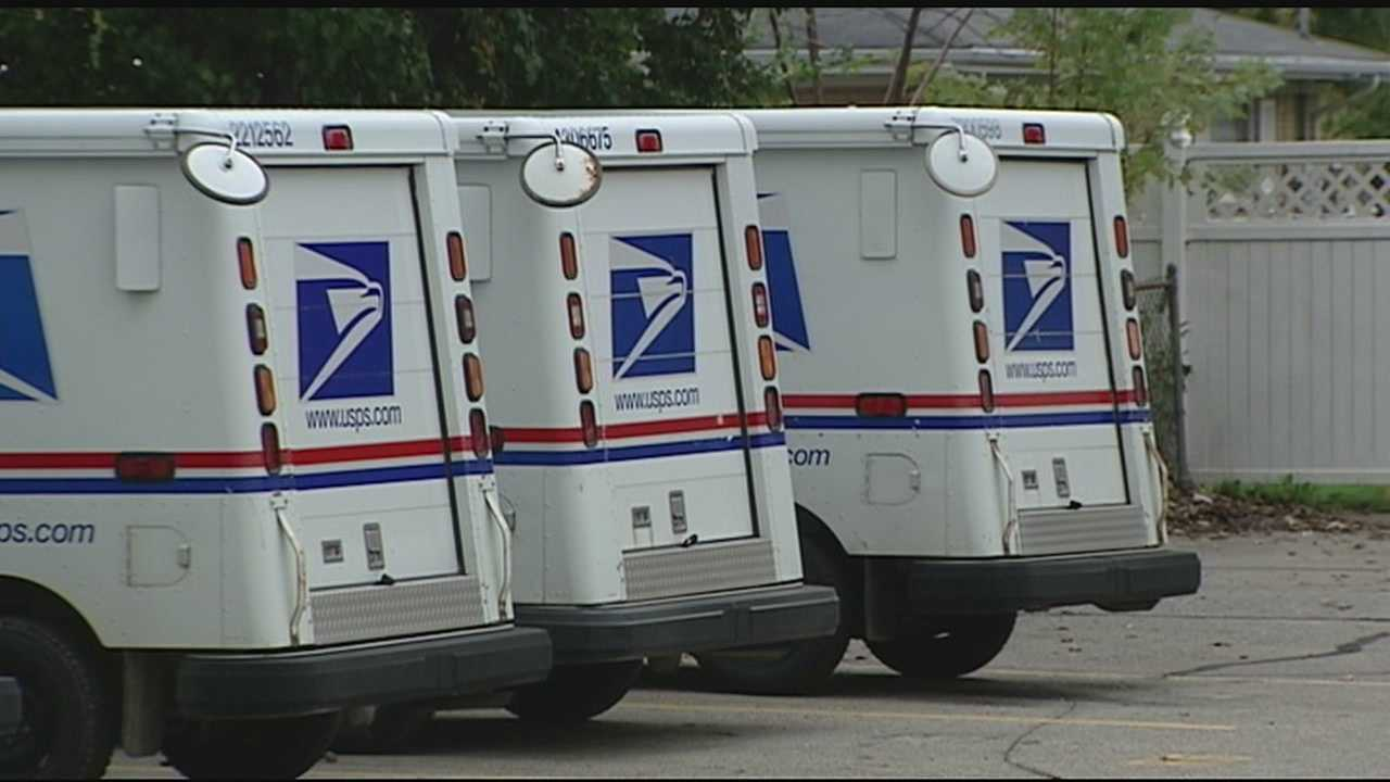 The postal service said 350 pieces of first class mail were found opened, another 525 pieces of mail found unopened.