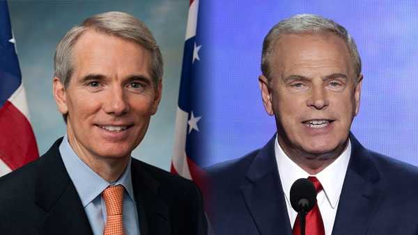 Sen. Rob Portman and Ted Strickland