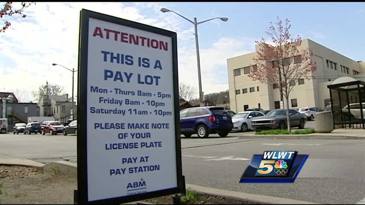 The paid parking ordinance just went into effect in Mainstrasse last week, so some Reds fans didn't know about the changes.