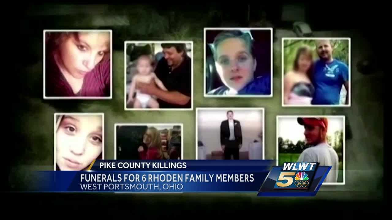 6 of 8 people shot to death last month in Pike County will be laid to rest Tuesday.