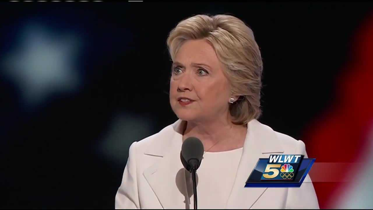 Hillary Clinton spoke to a packed house at the Democratic National Convention.