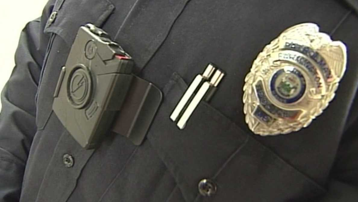 Maine police receive body cameras, to wear on them when they are on the job.