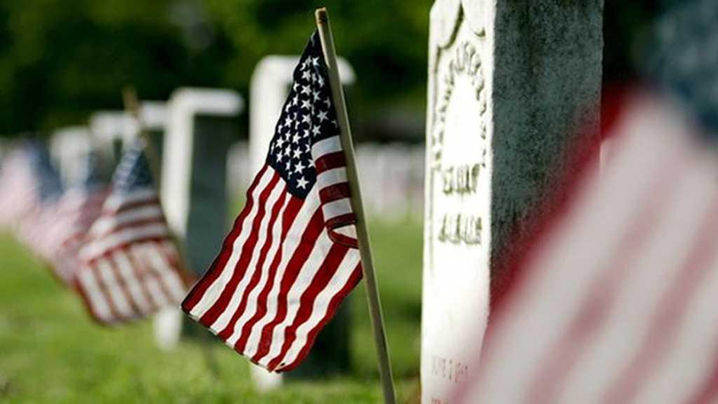 May 25: Memorial Day.