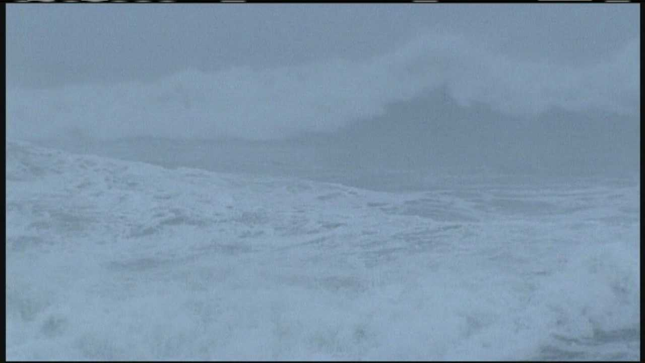 The blizzard churned up the ocean but caused little damage along Ferry Beach in Saco. WMTW News 8's Paul Merrill reports.