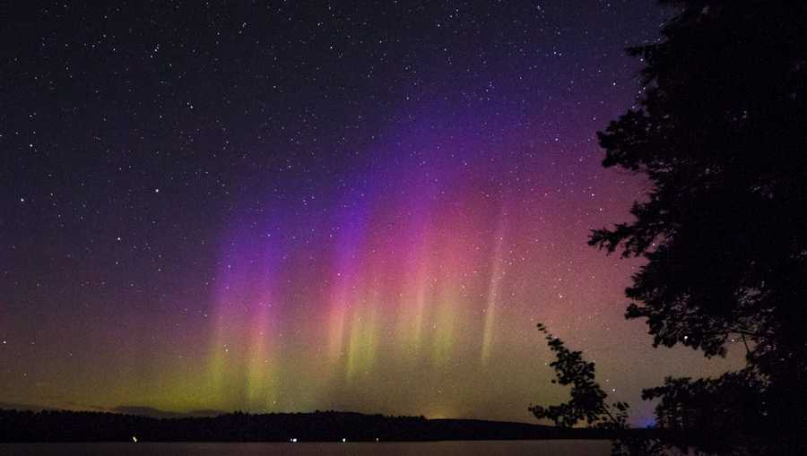 Maine New England May See Northern Lights This Weekend