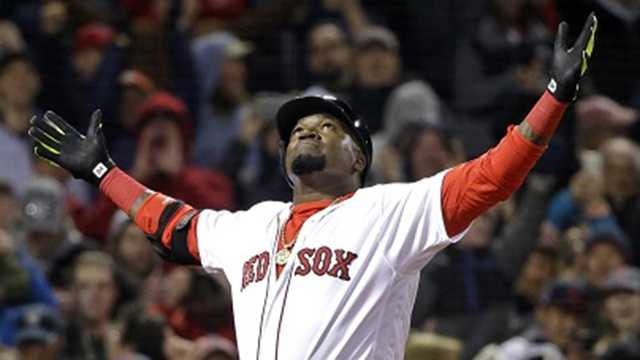 David Ortiz dedicates home run to little boy fighting for his life