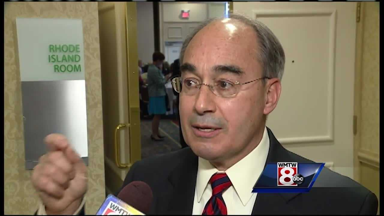 Rep. Bruce Poliquin is coming under fire for voting against a measure that would've barred federal contractors from discriminating against gay employees.