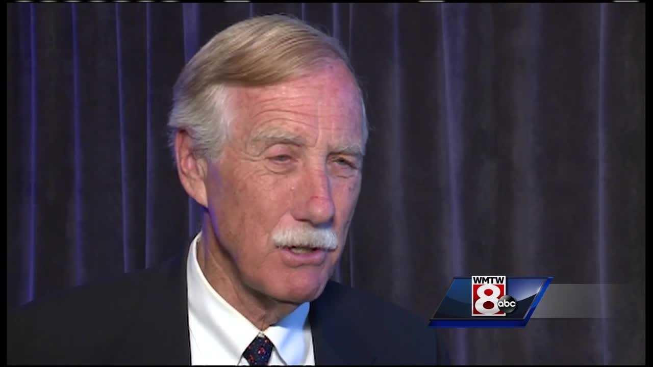 Senator King says population standstill may hurt state businesses
