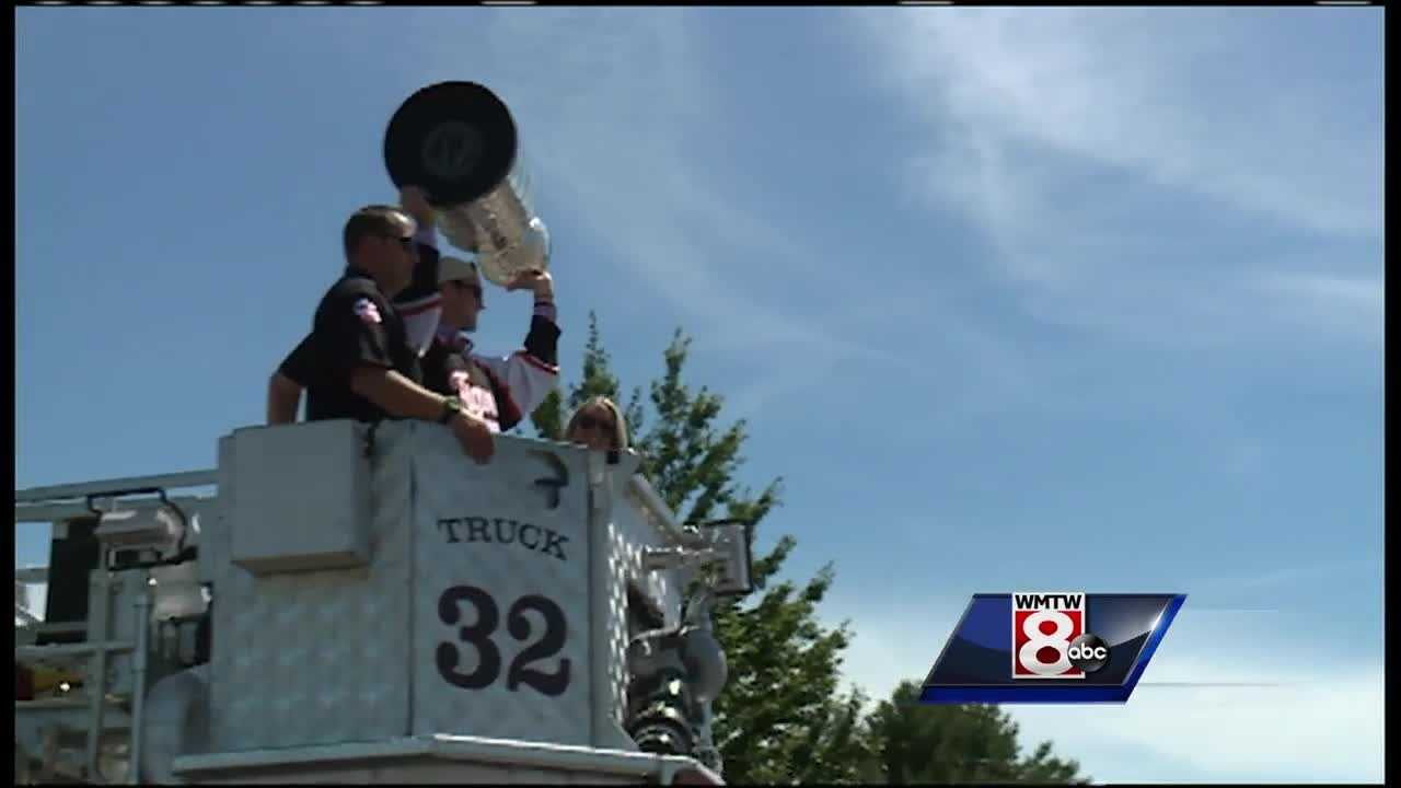 Stanley Cup Champ returns to Biddeford