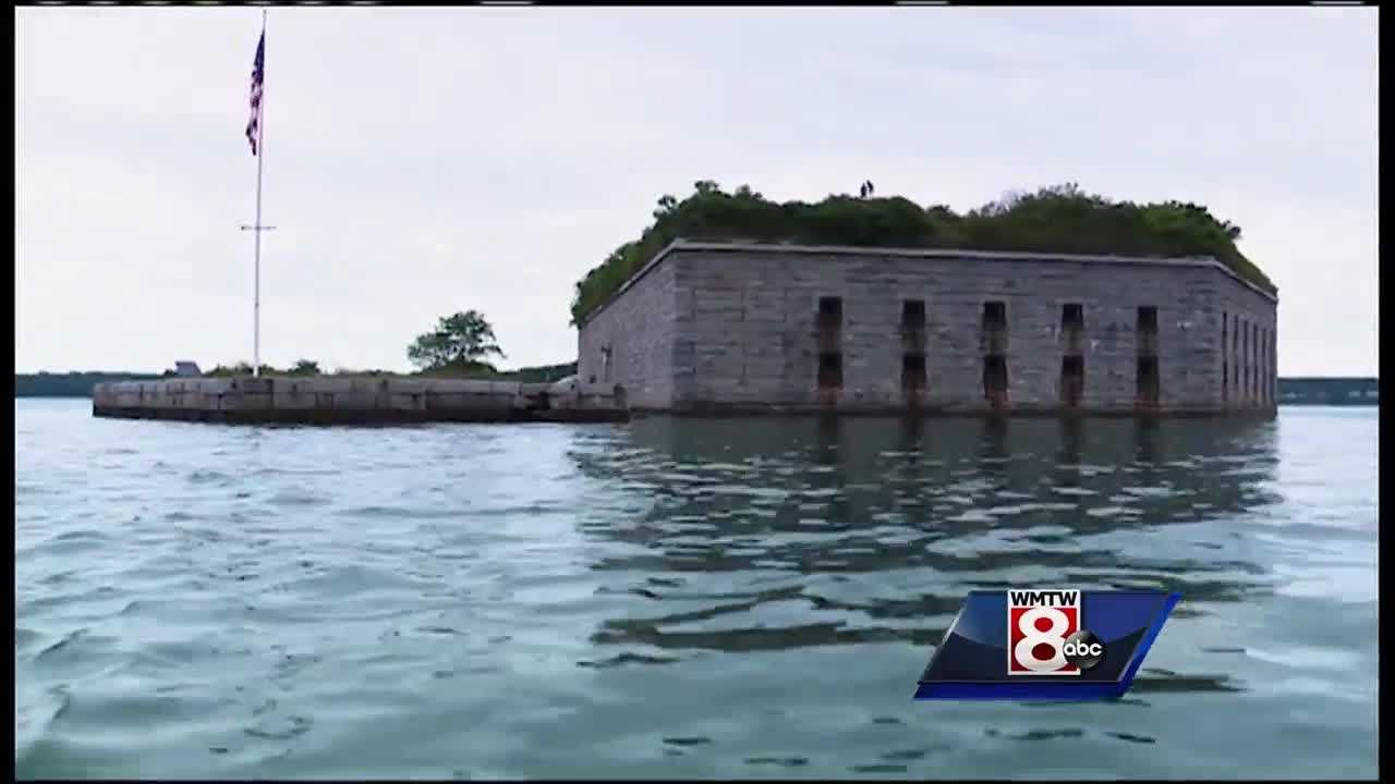 It's a piece of Maine and American history in Casco Bay but it is need of repair. News 8's Jim Keithley takes us to Fort Gorges in this week's Hometown Maine.