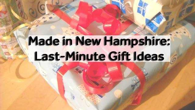 Have you finished your holiday shopping yet? If not, think about buying local with these New Hampshire-inspired gift ideas.