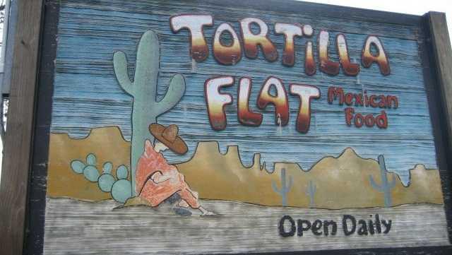 7. Tortilla Flat in Merrimack