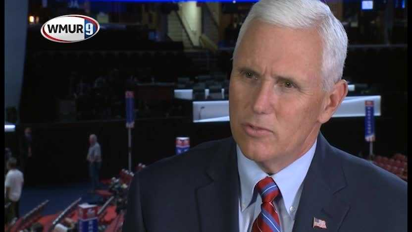 1-on-1 with Mike Pence: VP pick 'the greatest honor in my life'