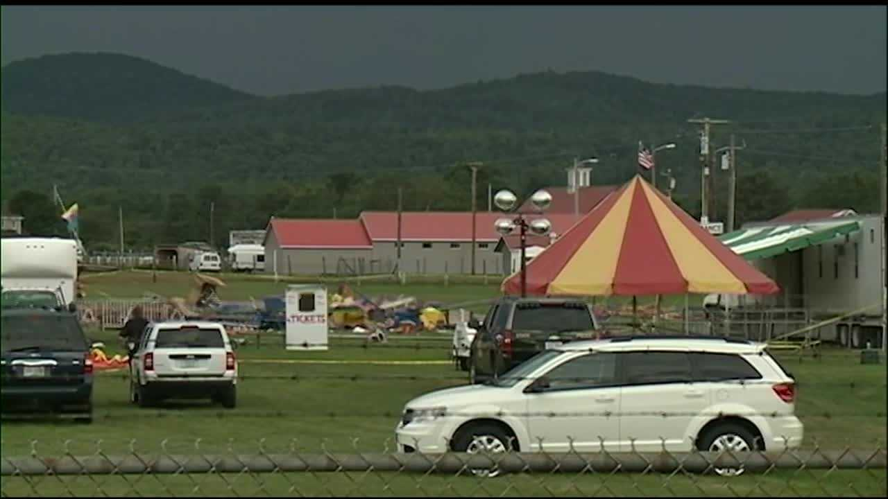 Lancaster circus tent collapse