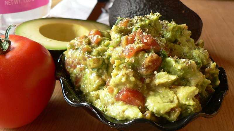 People often add salt to guacamole, but just lime gives it the flavor it needs.