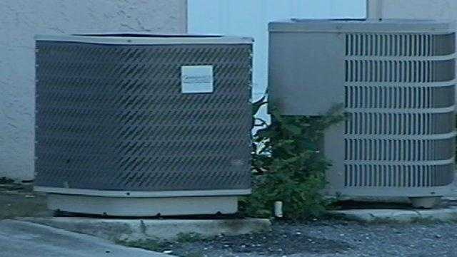 WHO'S STEALING AIR CONDITIONERS?
