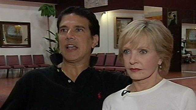 Florence Henderson and Corky Dance Practice - 25011197