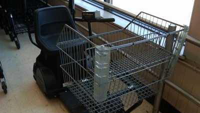 electric shopping cart stolen - 23621437