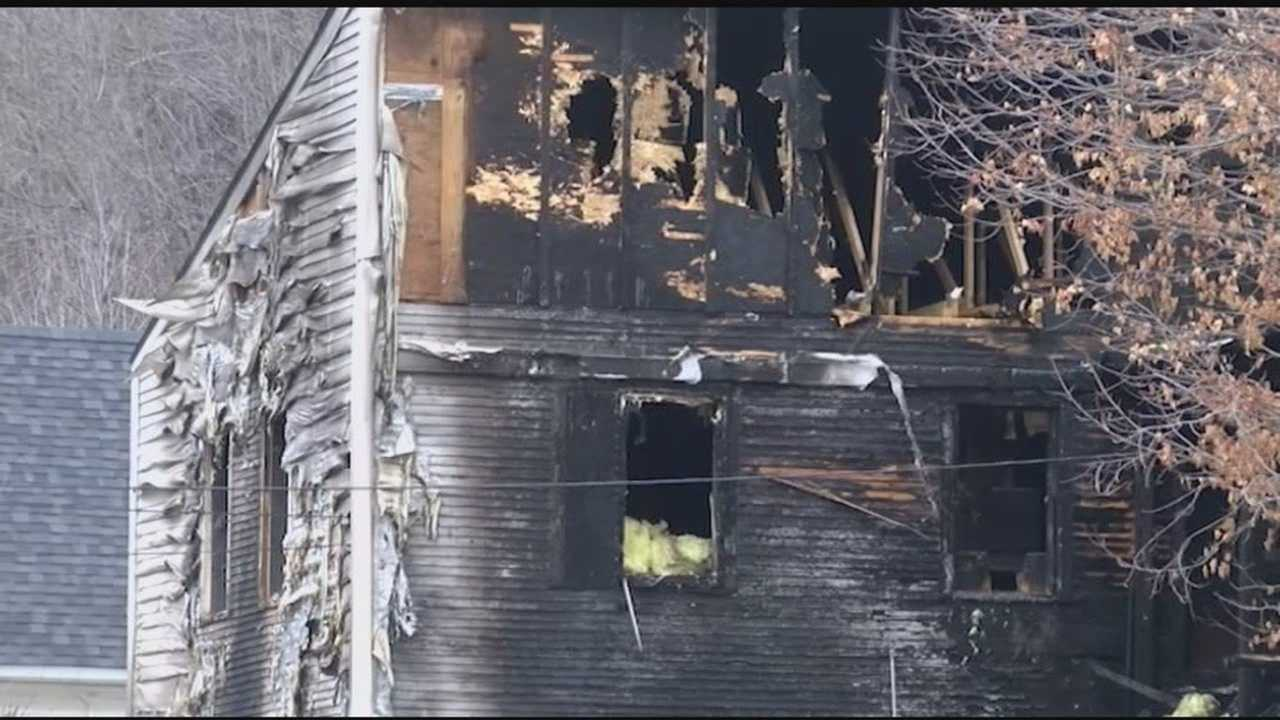 Investigators say the cause of the fire is suspicious