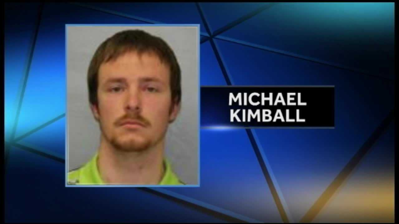 Michael Kimball, 29, of Plattsburgh
