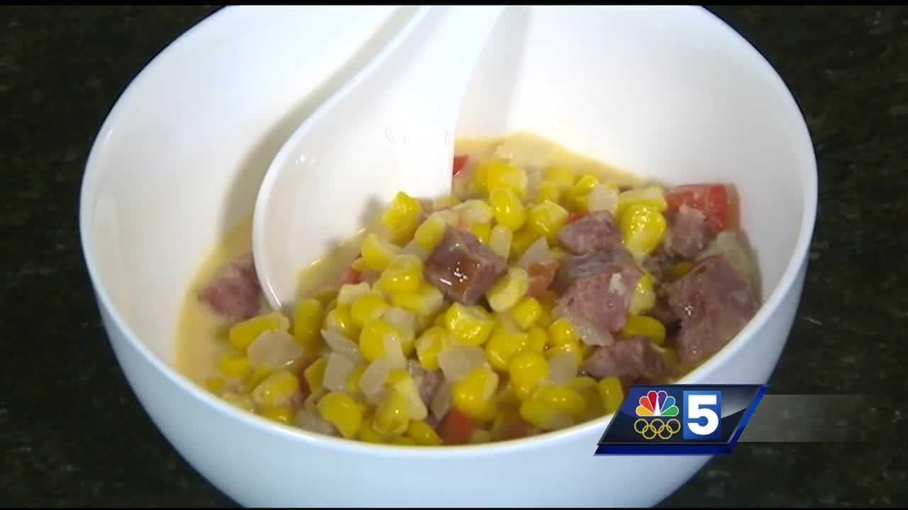 In the Kitchen:  Corn Maque Choux