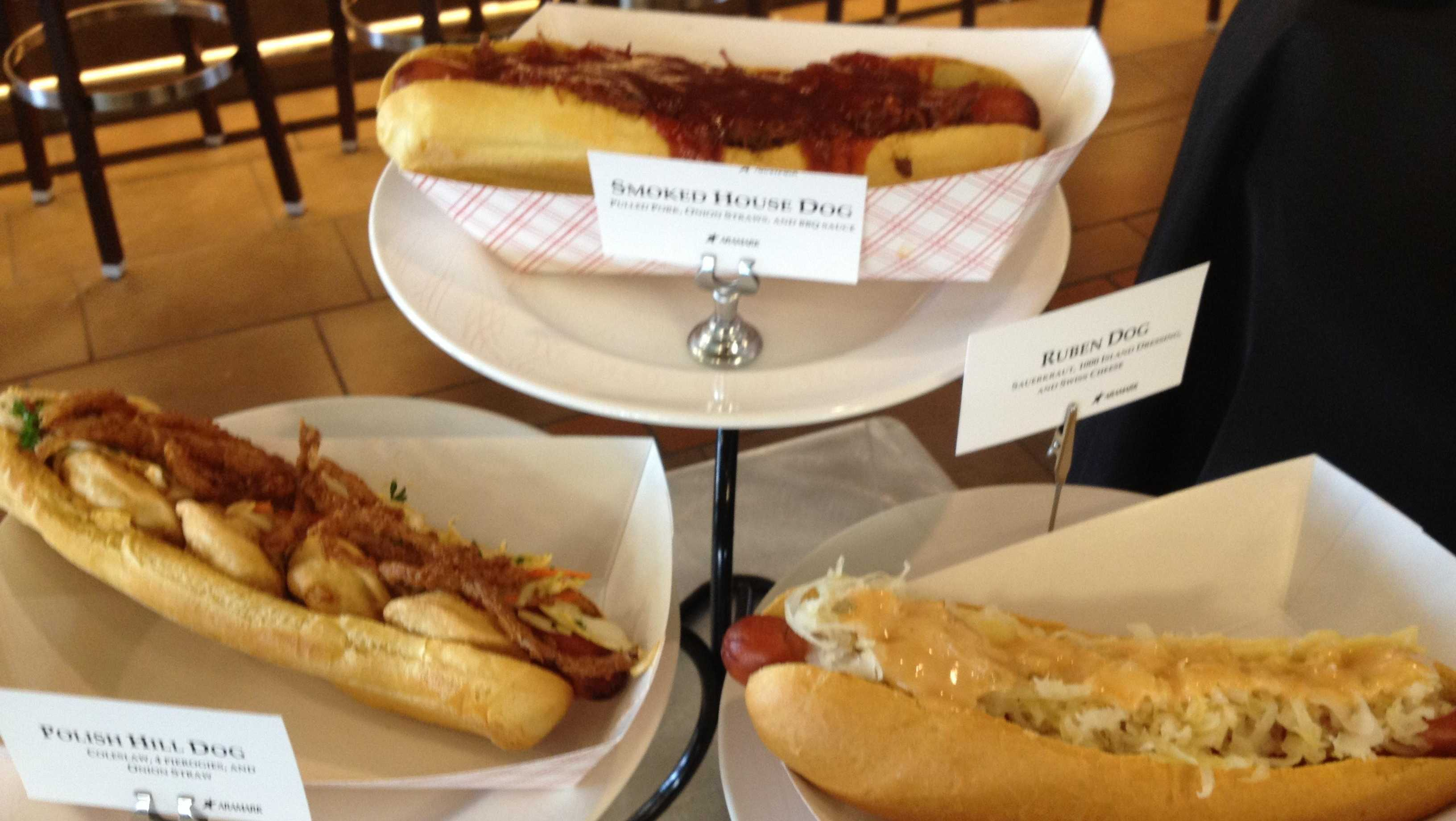 PNC Park gourmet hot dogs