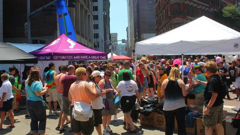 Pittsburgh Pride Crowds